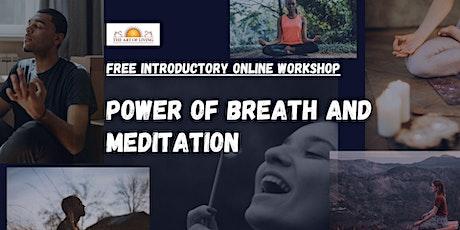 Introduction to Meditation & Breathwork tickets