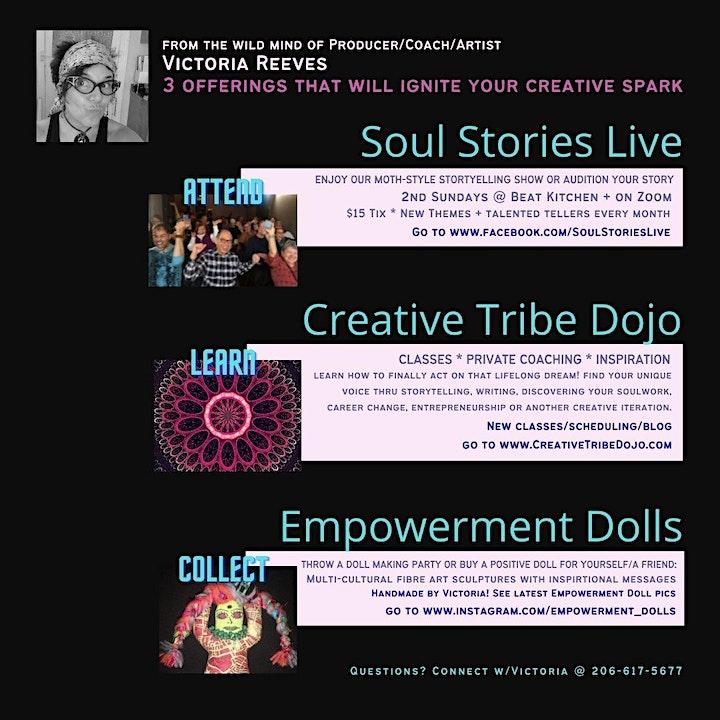 SoulWork Master Class for Creative Entrepreneurs image