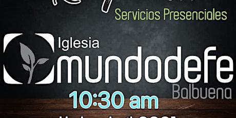 2do Servicio MDF 26 Mayo - 10:30am boletos