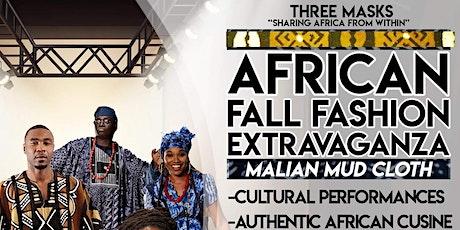 AFRICAN FALL FASHION SHOW: MALIAN MUD CLOTH EDITION entradas