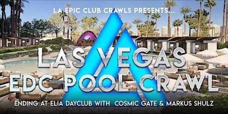 EDC WEEK Las Vegas Pool Crawl with COSMIC GATE & MARKUS SHULZ tickets