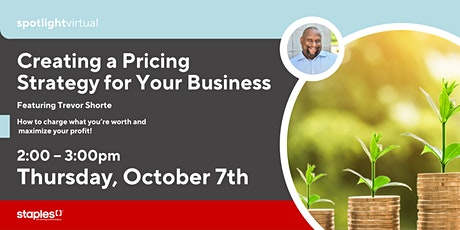 Creating a Pricing Strategy for Your Business tickets