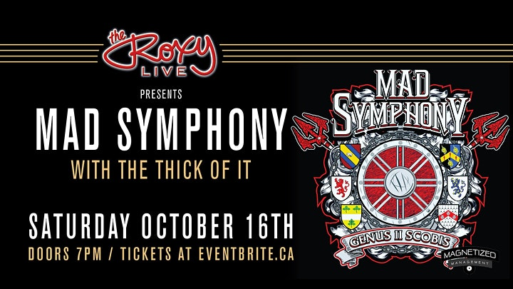 Mad Symphony W/ The Thick of It image