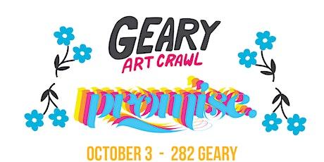 Promise x Uma Nota - Geary Art Crawl -  282 Geary  - Saturday tickets