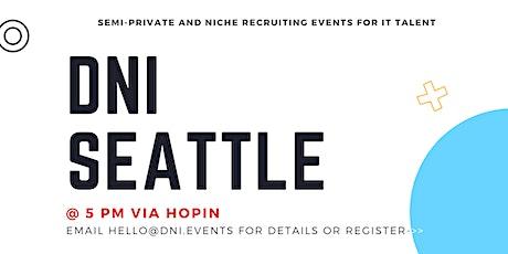 DNI Seattle 11/18 Talent Ticket tickets