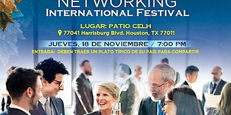 Festival Internacional / Networking tickets