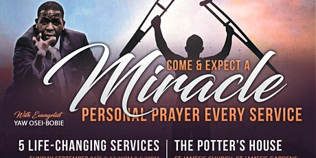 The Potter's House Church - Special Church Services tickets