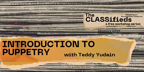 Introduction to Puppetry with Teddy Yudain tickets