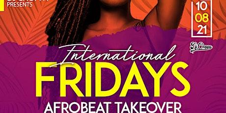 International Friday tickets