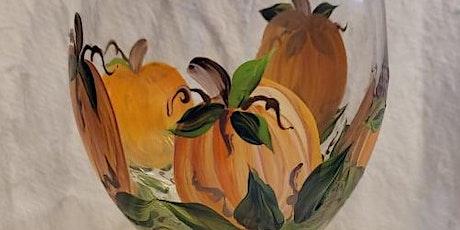 Pumpkin Wine Glass Painting tickets