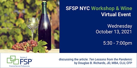 You're invited to our October Workshop & Wine Happy Hour! tickets