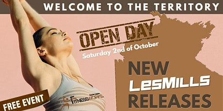 FITNESS WORKS OPEN DAY - Welcome to the Territory! tickets