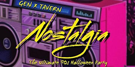 Nostalgia : 90s Halloween Downtown tickets