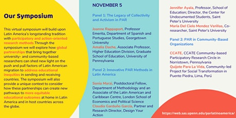 Latin American Migration and Participatory Research Symposium tickets