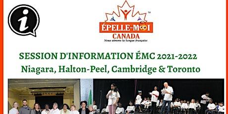 Session d'information Épelle-Moi Canada billets