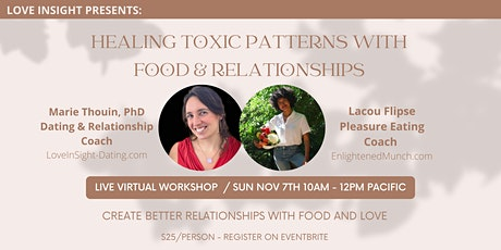 Healing Toxic Patterns with Food & Relationships tickets
