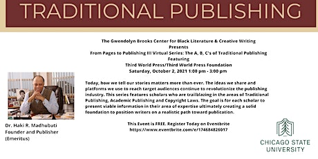 From Pages to Publishing III Series: The A,B,C's of Traditional Publishing tickets