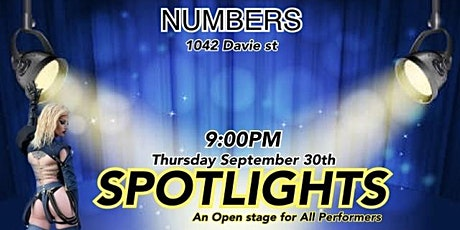 Spotlights At Numbers tickets