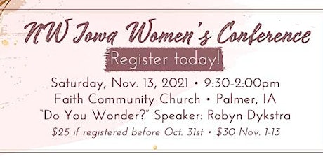 2021 NW Iowa Women's Conference tickets