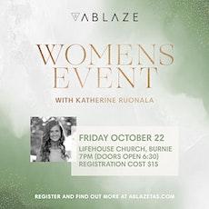 ABLAZE Women tickets