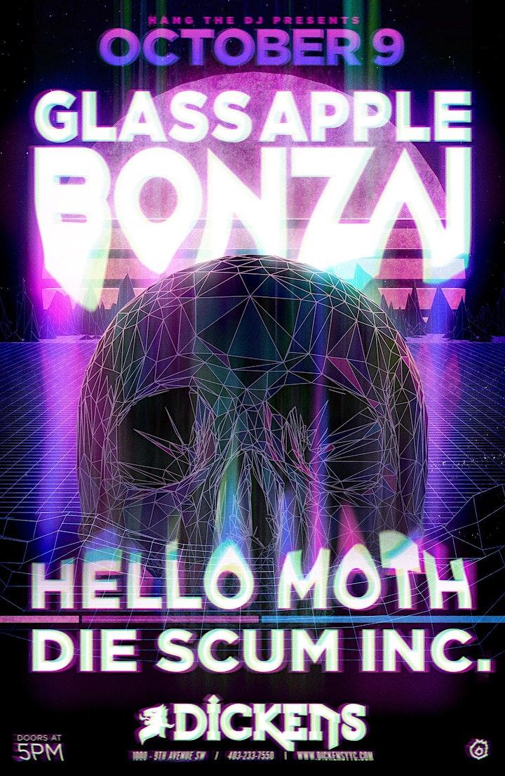 Glass Apple Bonzai w/ Hello Moth, Die Scum Inc, Vanden Dool + HTDJ image