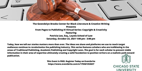 From Pages to Publishing III Series: Copyright & Creativity tickets