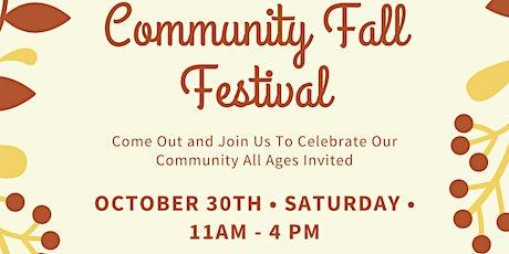 1st Annual Fall Festival tickets
