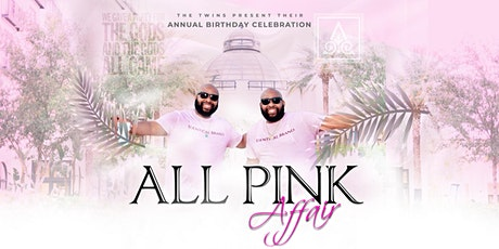 All Pink Affair- The Twins Birthday Celebration tickets