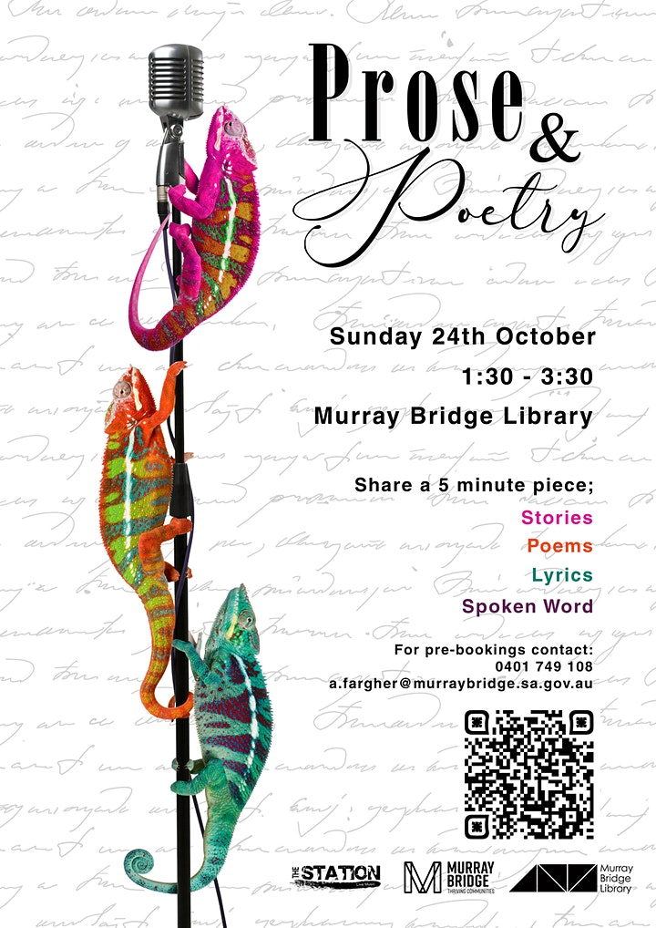 Prose & Poetry (THE LIBRARY EVENT) image