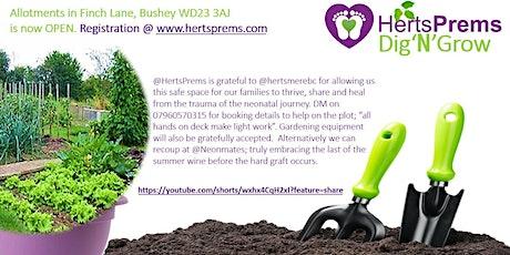 HertsPrems Dig'N'Grow Allotments tickets