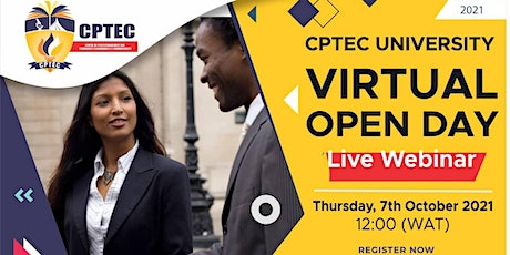 CPTEC Virtual  Open Day tickets