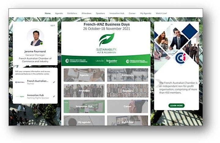 2021 French Australian New Zealand Business Days image