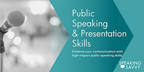 Perth Public Speaking & Presentation Skills tickets