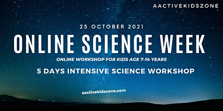 Be a Scientist - 5 Days Intensive Program for Kids (8-14 years) tickets