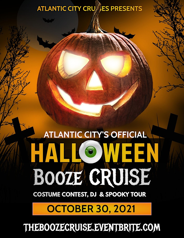 Official Halloween Booze Cruise Boat Party in Atlantic City image