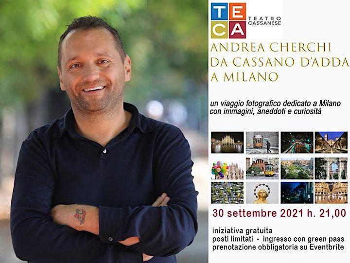 """Immagine SAGRA PATRONALE 2021 -  """"ANDREA CHERCHI - DA CASSANO D'ADDA A MILANO"""""""