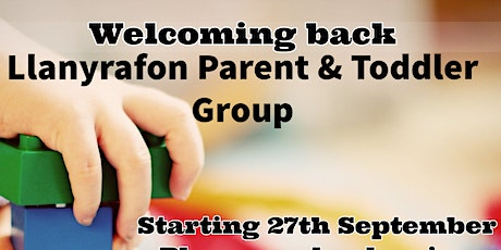 Parents and Toddlers Group Llanyrafon tickets