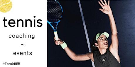 Tennis Coaching : Thursday : Indoor tickets