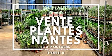 VENTE PLANTES NANTES billets