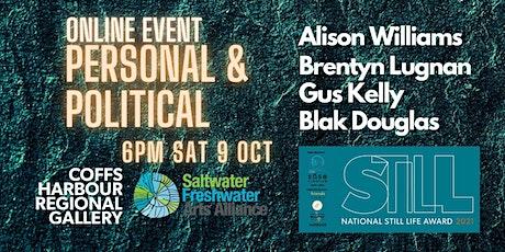 Art Talks: Personal  & Political tickets