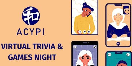 ACYPI Virtual Trivia & Games Night tickets