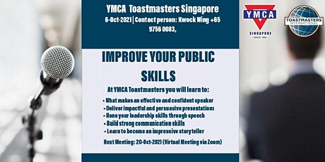 Improve your public speaking skills tickets