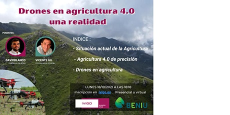DRONES EN AGRICULTURA 4.0 entradas