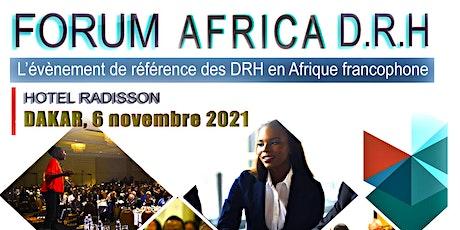 FORUM AFRICA D.R.H billets