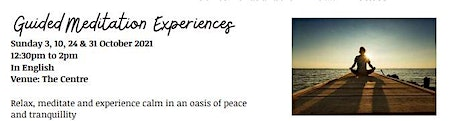 Guided Meditation Experiences tickets