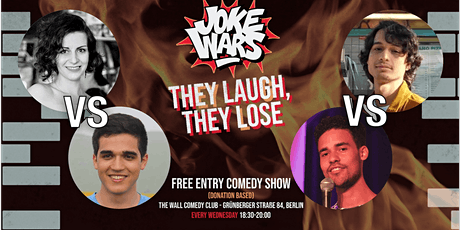 FREE STAND-UP COMEDY Show in English -  After Work - JOKE WARS #21 tickets