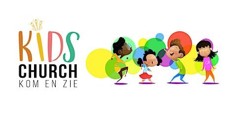 Kom en Zie Kids Church  24 oktober  2021 |  10.00u tickets