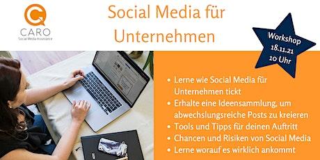 Social Media für Unternehmen (Online-Workshop!) Tickets