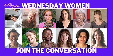 Wednesday Women - Monthly Conversations: 6-7.30pm tickets