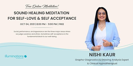 Sound Healing Meditation For Self-Love & Self-Acceptance tickets